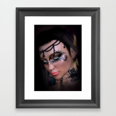 Beautiful Dark Queen Framed Art Print