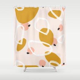 Abstract Fall III #society6 #abstractart Shower Curtain