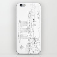 singapore iPhone & iPod Skins featuring Singapore by Dario Mabritto
