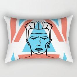 David Bowie & Alexander McQueen Rectangular Pillow