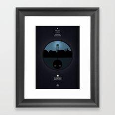 Super 8 Print Framed Art Print