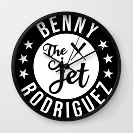 Benny The Jet Rodriguez Wall Clock