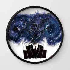 The Vastness of the Mind Wall Clock