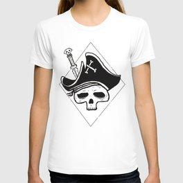 Undead Pirate, pirate skull T-shirt