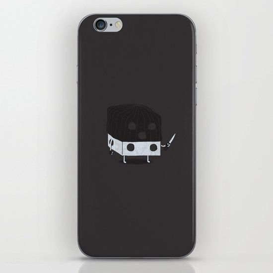 Dicey Little Guy iPhone & iPod Skin