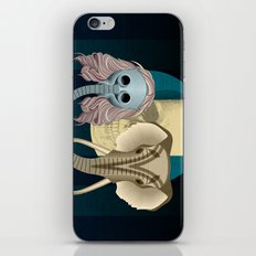 Love in times of Ebola iPhone & iPod Skin