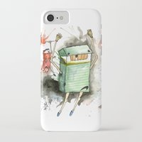 run iPhone & iPod Cases featuring RUN! by Travis Sykes