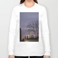 skyline Long Sleeve T-shirts featuring skyline by Amanda Stockwell