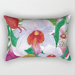 Orchid garden Rectangular Pillow