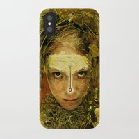 pagan iPhone & iPod Cases featuring Pagan by Charlie Terrell