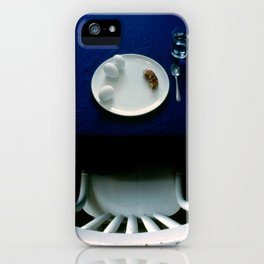 Breakfast in Blue iPhone Case