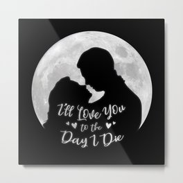 It's a Wonderful Life - Love Metal Print