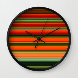 Lobster-Claw Plant II Wall Clock