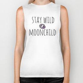 Stay Wild Moonchild Biker Tank
