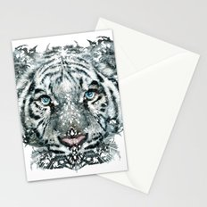 The White Tiger (Classic Version) Stationery Cards