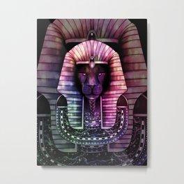 KING Color Metal Print