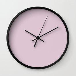 Light Lilac Wall Clock