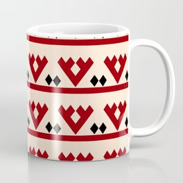 geometric flower 97 ceramic colors Coffee Mug
