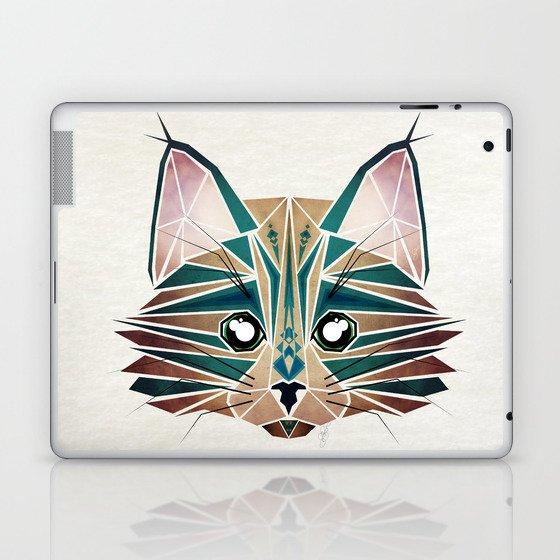 blue cat  Laptop & iPad Skin