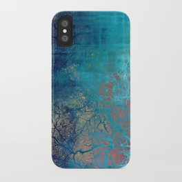 On the verge of Blue iPhone Case