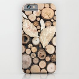Out of the Woodworks iPhone Case