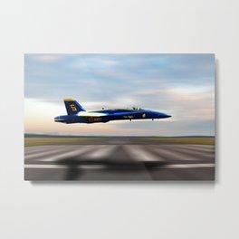 Blue 5 Metal Print