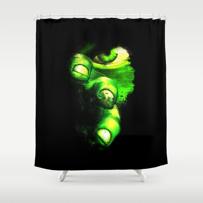 Hulk Is Walking After You Shower Curtain