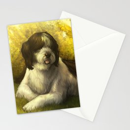 Jake: Sheepdog Portrait Stationery Cards