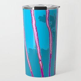 Blue Bongo Stripes Travel Mug