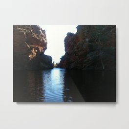 Ellery Creek (Alice Springs, Australia) Metal Print