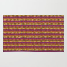 Colorful Wild Spirit Feathers Rug