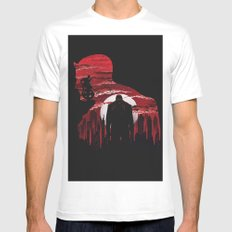 The Man Without Fear Mens Fitted Tee White MEDIUM