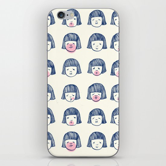 Bubble bubble bubble gum iPhone Skin