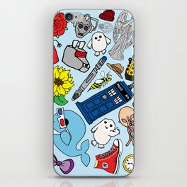 Lord of Time Megamix Blue iPhone Skin