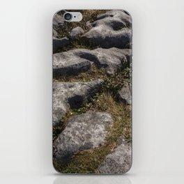 Burren Rocks iPhone Skin