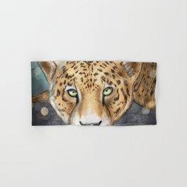 Snow, Leopard Hand & Bath Towel