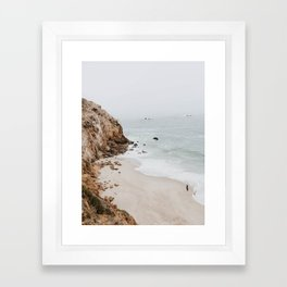 malibu coast / california Framed Art Print