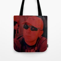 sport Tote Bags featuring Red Sport by Ailav
