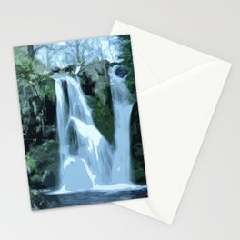 Valley of Desolation Waterfall - Yorkshire Stationery Cards
