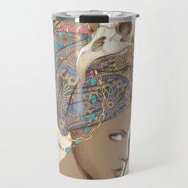 Queen of Clubs Travel Mug