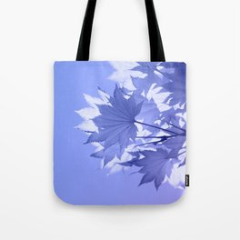 Purple Bough Tote Bag