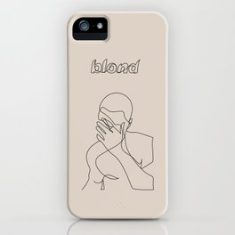 Frank | Blond iPhone Case