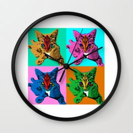 Loli 4sies: Garfield Arlene Genie Shriek Wall Clock