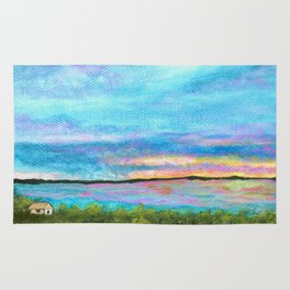 Good Morning, Beach House Sunrise Rug