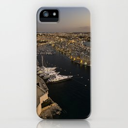 Grand Harbour Valletta Malta iPhone Case