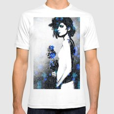 Bloom SMALL Mens Fitted Tee White