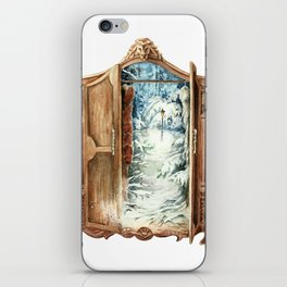 Narnia Wardrobe iPhone Skin