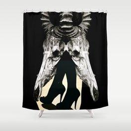 LegHead - Gerald Robin © Shower Curtain