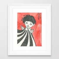 child Framed Art Prints featuring child by Ania