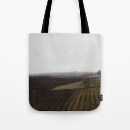 yakima valley orchard after rain Tote Bag